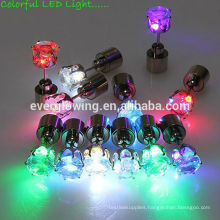 20*7mm 7 colors led light earrings