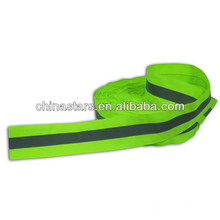 high vis silver color reflective webbing tape