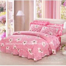 Impresso conjunto de cama, conjunto de cama, 4PCS jogo de cama