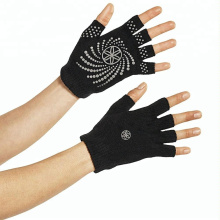 High Quality Cotton PVC Anti-Slip YOGA Gloves