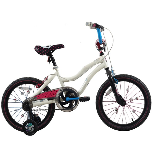 16 girl kids bike