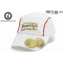 Poliéster personalizado de impresión corriendo sombrero de rugby Cap Sports