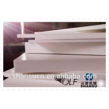 Panneau blanc de mousse de PVC imprimable pour le signe, panneau de mousse de PVC de publicité, feuille flexible de PVC, panneau de mousse d'impression
