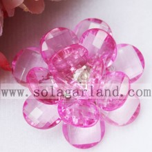 47MM Clear Plastic Bead Artificial Flowers For DIY Decoration