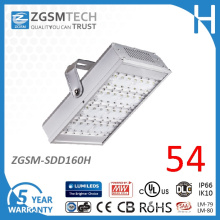 160W Aluminum Alloy LED Tunnel Light with Dimmable Driver