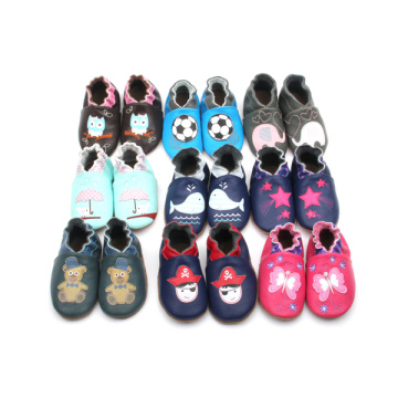 Hot selling Girls New Design Shoes Soft Leather