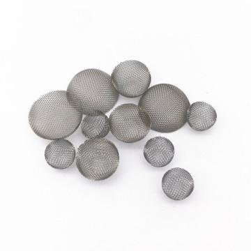 Metal inoxidável filtro de fumar de metal bacia de tela forma de fumar filtro de tela cone tela de fumar cachimbo