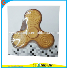 High Quality Educational Toy Yellow Luminous Jig Gyro Relieve Stress Hand Spinner
