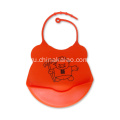 Silicone Safe Rubber Baby Bib