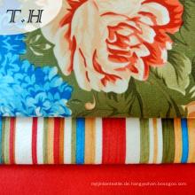 Nylon Tricot Knit Fabric mit Druckblume