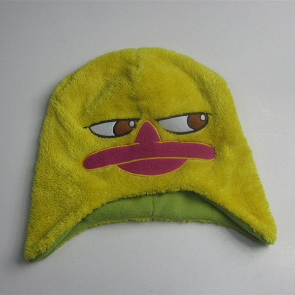 Kids Yellow Duck Winter Hat Wholesale