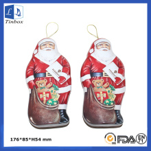 Natal Papai Noel Tin Box Atacado