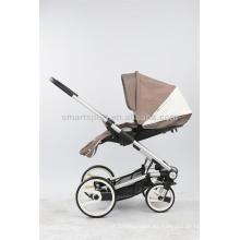Cochecito de bebé francés proveedor de China con cinturones de seguridad de 5 puntos