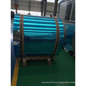 1060 bobinas de aluminio cepillado para decoración de iluminación