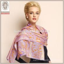 2015 новых 100% шерстяных платок шарфы Оптовые дамы зимний шаль