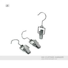 Оптовые продажи зажим шарнирного соединения крюк металла сапоги ткань вешалка