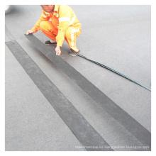 Cinta de sellado de grietas a prueba de agua en el pavimento asfáltico