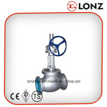 API Gear Opearted Bolted Bonnet Flanged Globe Valve