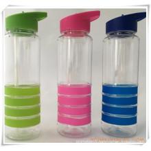 Bouteille d'eau de coupe de paille pour les cadeaux promotionnels (HA09035)