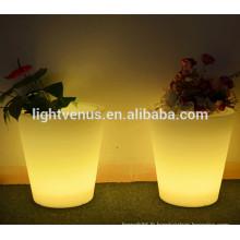 vases en plastique et plante a conduit les pots/branche vase éclairé de lumières/petite fleur vases à fleurs