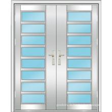 Edelstahl-Tür (WX-S-187)