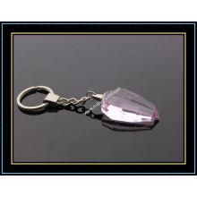 Heart Shaped Crystal Keychain (KC04)
