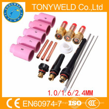 18PK tig welding gas lens for wp17 tig welding torch parts kits