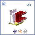 Disyuntor de alto rendimiento del vacío de 12kv Vs1 interior con poste integrado