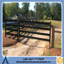 Customized High Quality and Strength Square/Round/Oval Tubes Style Field Fence