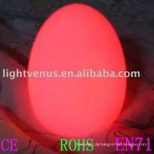 Ei-Formfeiertags-Nachtlicht mit 2011 neuen Arten