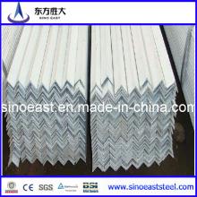 Barra angular galvanizada de acero igual