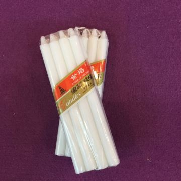 Partihandel Billiga Kyrkvax White Stick Candles