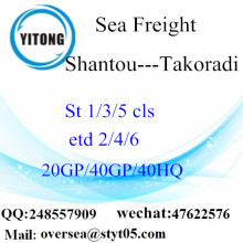 Shantou Port Sea Freight Shipping To Takoradi