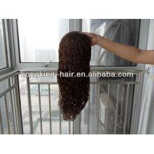 Mais nova peruca de cabelo brasileiro
