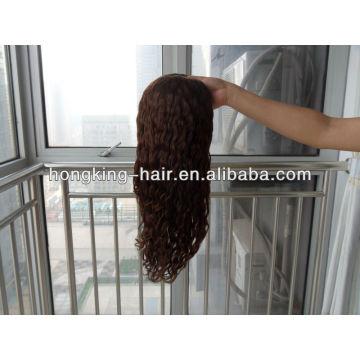 Nouvelle perruque de cheveux brésiliens pleine course