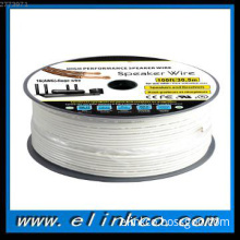High end  transparent speaker cable 2 cores wire with UL CL2,CL3, FT4