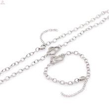 Chunky Armbänder und Halsketten Mode-Stil Schmuck Sets Großhandelspreis