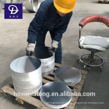 Disco redondo de aluminio 1050 O para hacer ollas, utensilios de cocina de alta presión,