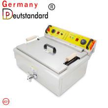 Máquina de fritadeira elétrica máquina de lanche