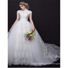 Nach Maß 2017 Qualitäts-hoher Kragen-chinesisches Art-Entwurfs-Ballkleid-Hochzeits-Kleid