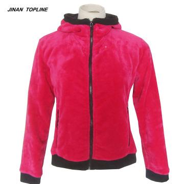 Women's Polar Fleece Jackets With Hood