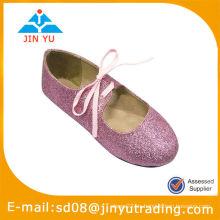 Glitter Lace Up zapatos de ballet
