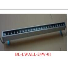 1X24W 1 метровый алюминиевый сплав светодиодный шайбы стены