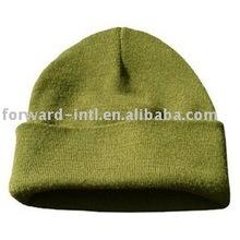 Sombreros baratos de la gorrita tejida de la cachemira del precio barato hechos en China