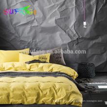 100% bambu king size cama conjunto / cama king size se, conjunto de cama de bambu
