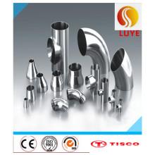 Accesorios de acero inoxidable ASTM 304 304L 304h Codo de 45 grados