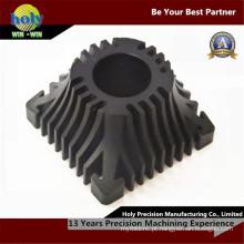 Peças sobresselentes elétricas de trituração do CNC do alumínio do CNC do dissipador de calor