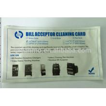 La tarjeta de limpieza de los contadores de billetes, contador de cuenta, venta caliente