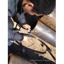 Nahtloses Stahlrohr mit abgeschrägtem Ende astm a106 / astm a53
