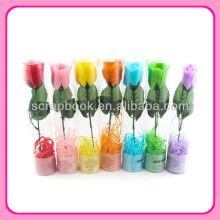Magnifique savon de pétale de rose cadeau de Promotion avec PVC emballage